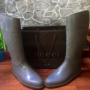 SOLDGucci Rain Boots